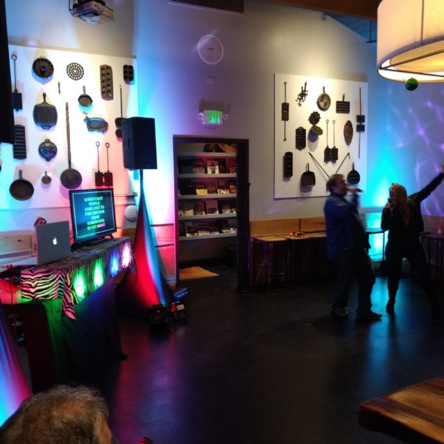 1 Hess Collection Holiday Party - Kitchen Collective Napa, CA (The finest karaoke experience)