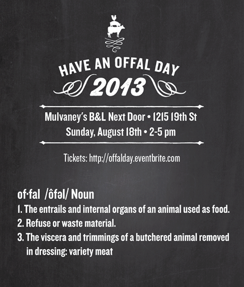 2 Have An Offal Day! 2013