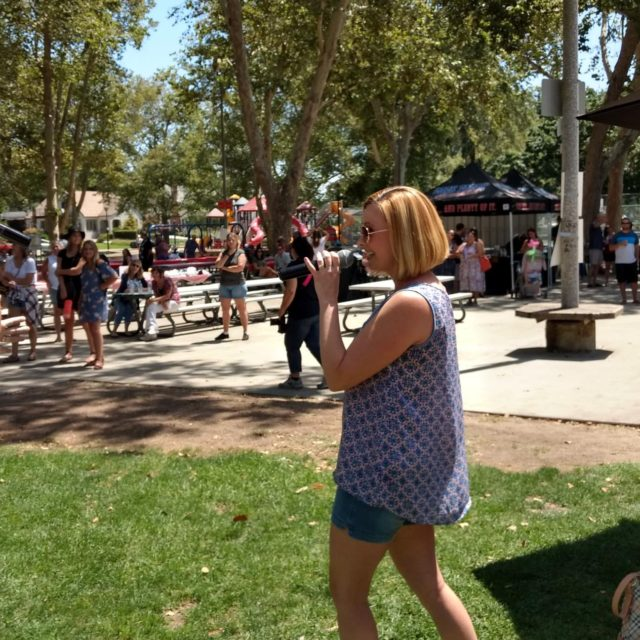 23 APM Company Picinic - Royer Park Roseville, CA (Multiple microphones for duets & groups)