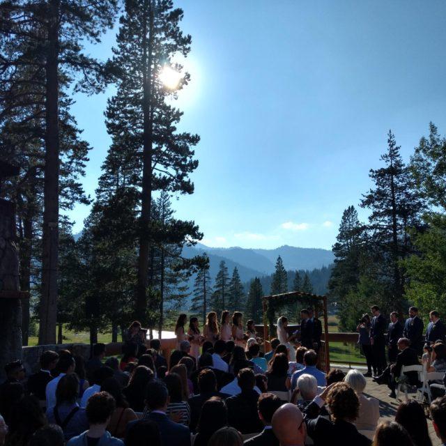 38 Wedding - Squaw Creek Resort Olympic Valley, CA