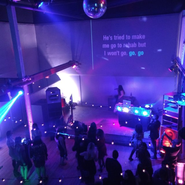 8 Charlotte Russe Holiday Party - Public Works San Francisco, CA (Offering every YouTube song with mobile wi-fi)