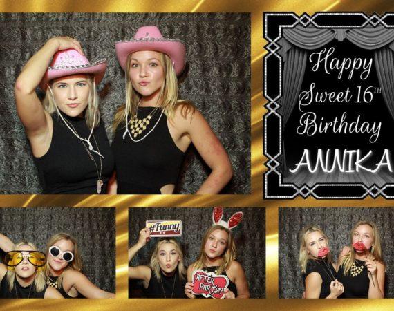 Annika 16th Birthday (Sweet 16 Theme)