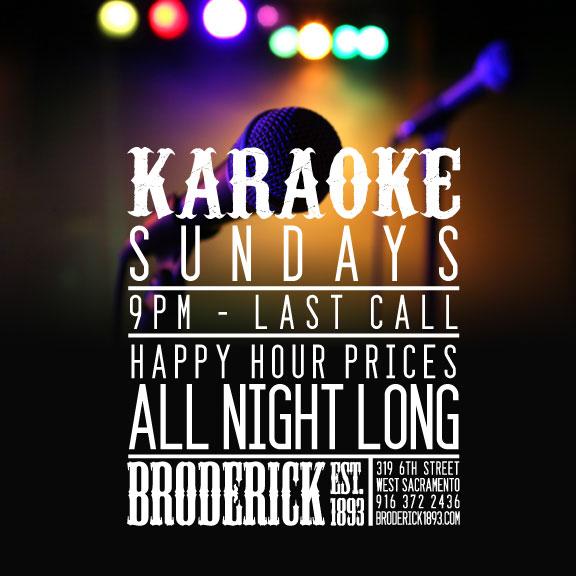 Broderick Roadhouse Sundays