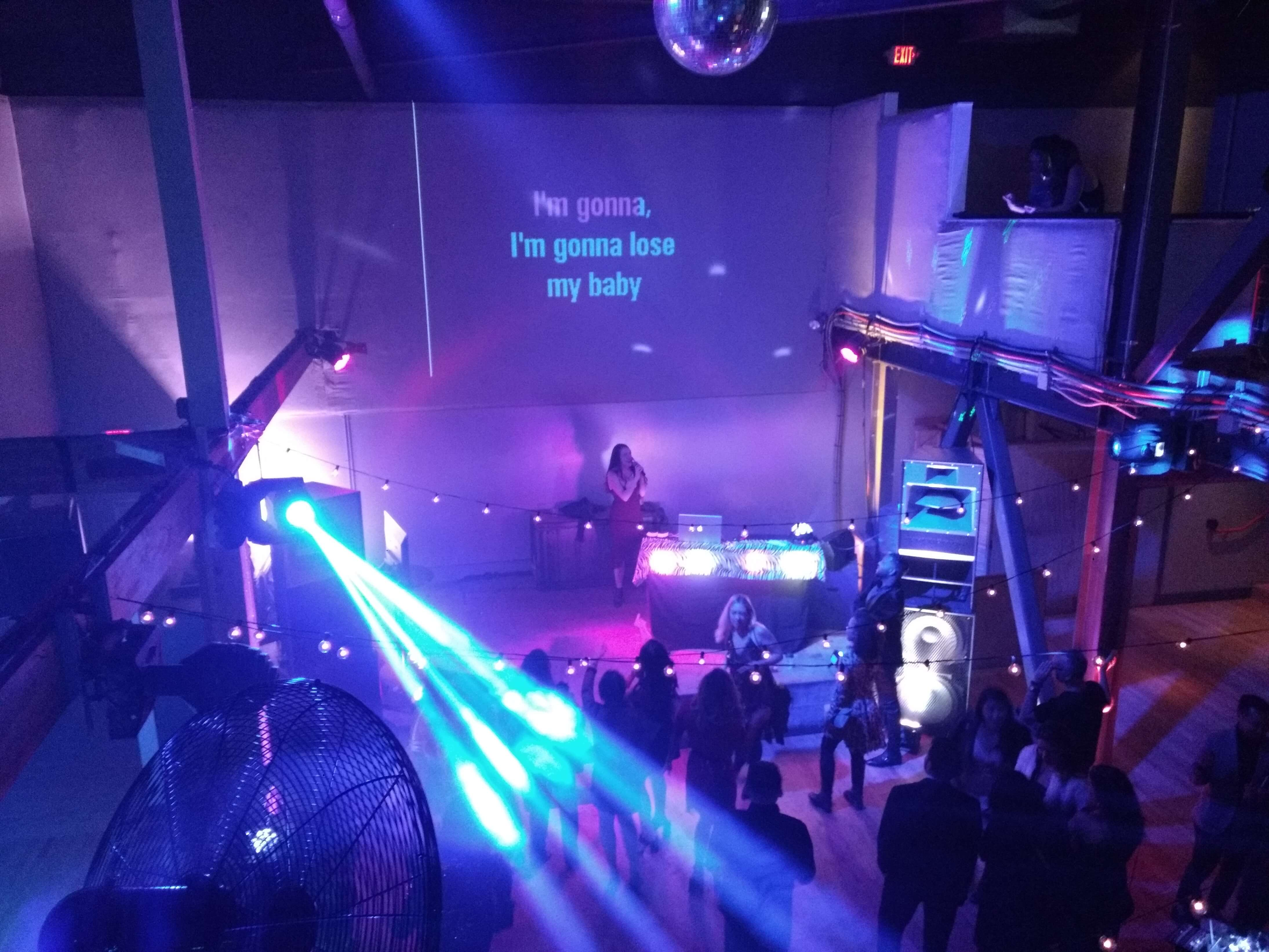 Charlotte Russe Holiday Party Karaoke Jam @ Public Works SF (6)