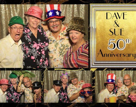 Dave & Sue 50th Anniversary (Milestone Theme)