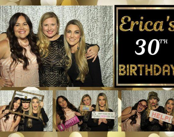 Erica 30th Birthday (Milestone 30th Theme)