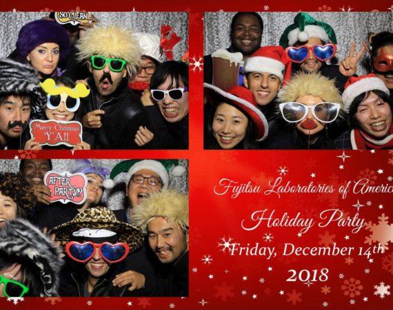 Fujitsu Holiday Party Dec14