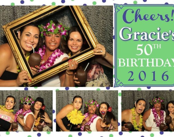 Gracie 50th Birthday (Island Luau Theme)