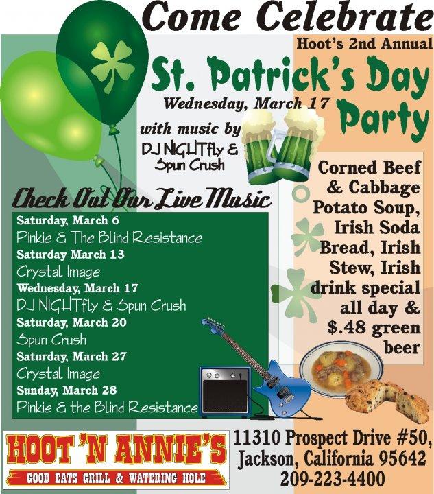 Hoot N Annie's St. Patrick's Day 2010