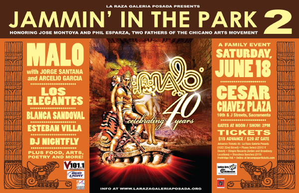 Jammin' In The Park 2 with Malo - CesarChavezPark Sacramento June 18th, 2011