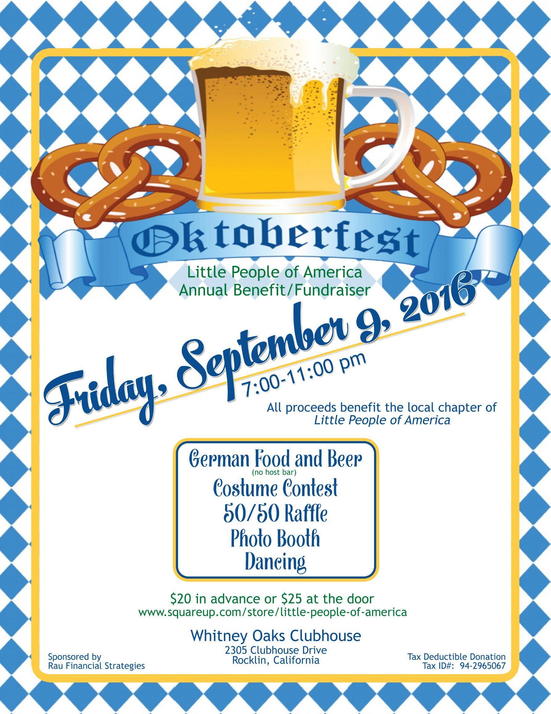 LPA Oktoberfest Benefit @ Whitney Oaks