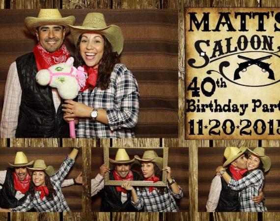 Matt 40th Birthday (Wild West Theme)
