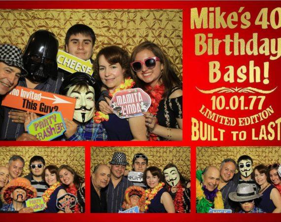 Mike 40th Birthday (Milestone 40th 49ers Theme)