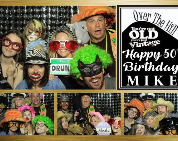 Mike 50th Birthday (Over The Hill Theme)