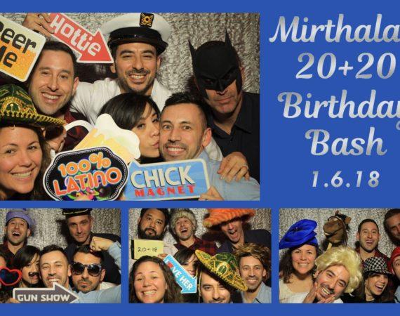 Mirthala 40th Birthday (Milestone 40th Theme)