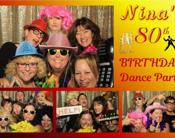 Nina 80th Birthday (Milestone 80th Theme)
