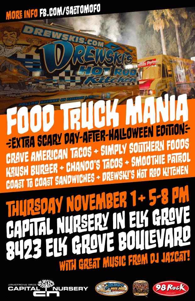 SactoMoFo Food Truck Mania -- Capital Nursery Elk Grove Nov1