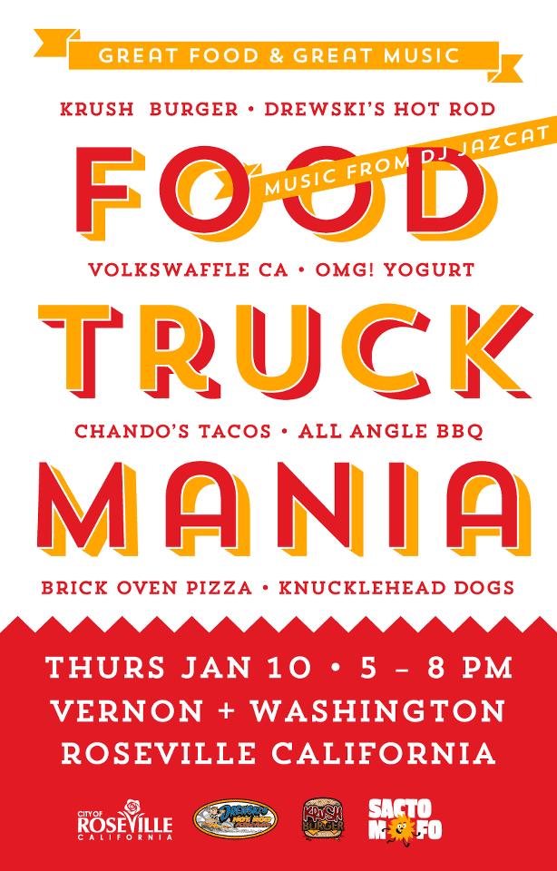 SactoMoFo Food Truck Mania -- Downtown Roseville Jan10