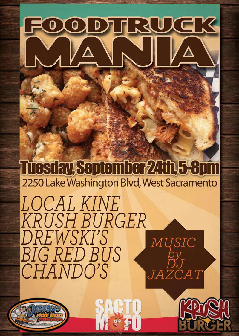 SactoMoFo Food Truck Mania -- Lowe's West Sacramento Sept24