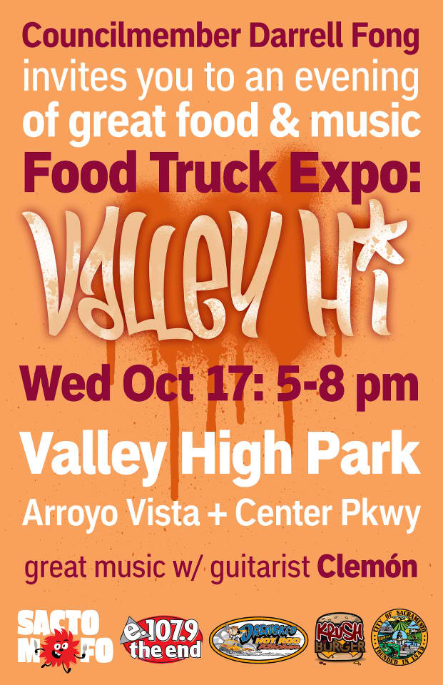 SactoMoFo Food Truck Mania -- Valley High Park Sacramento Oct17