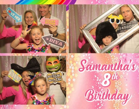 Samantha 8th Birthday