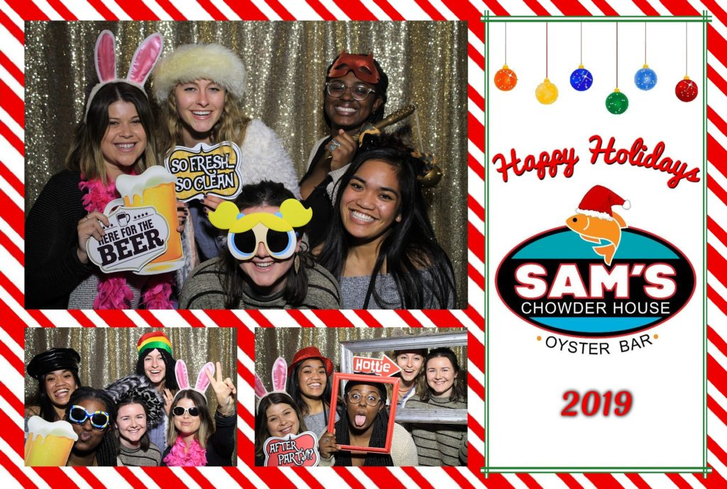 Sam's Chowder House Holiday Party Jan9