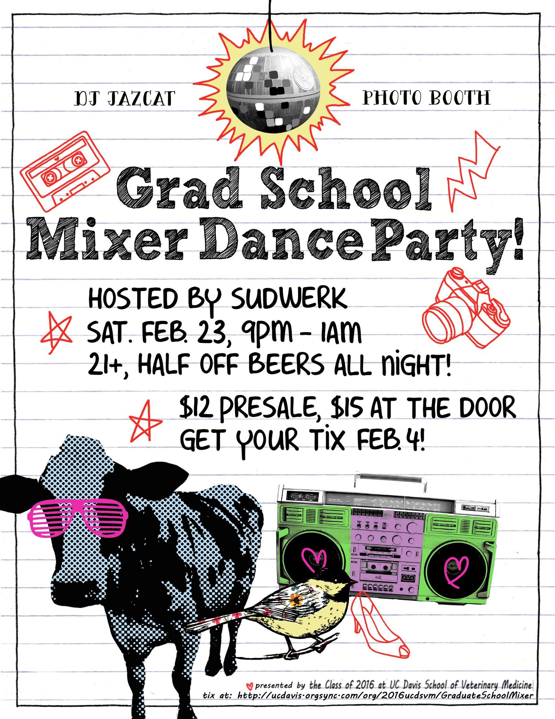 UC Davis Grad School Mixer Dance Party @ Sudwerk